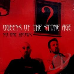 Queens Of The Stone Age - No One Knows CD Cover Art