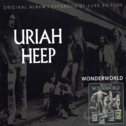 Uriah Heep - Wonderworld CD Cover Art