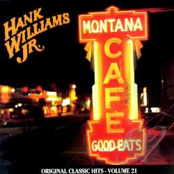 Williams, Hank, Jr. - Montana Cafe CS Cover Art