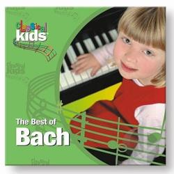 Classical Kids - Best Of Bach CD Cover Art