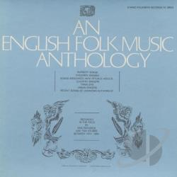 English Folk Music Anthology CD Cover Art