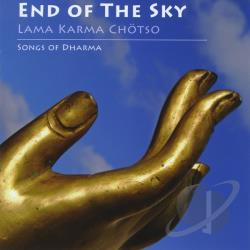 Karma Chotso - End of the Sky: Songs of Dharma CD Cover Art