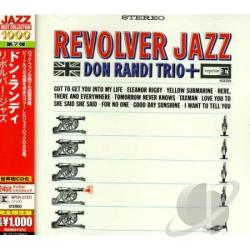 Randi, Don - Revolver Jazz CD Cover Art