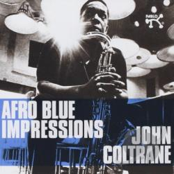 Coltrane, John - Afro Blue Impressions CD Cover Art