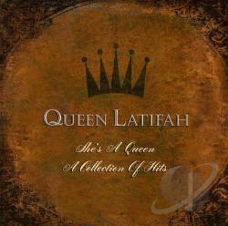 Queen Latifah - She's A Queen: A Collection Of Hits CD Cover Art