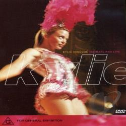 Minogue, Kylie - Intimate & Live DVD Cover Art