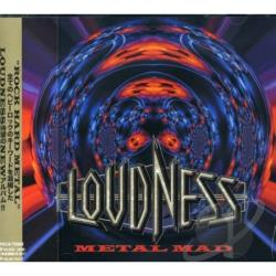 Loudness - Metal Mad CD Cover Art