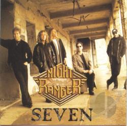Night Ranger - Seven CD Cover Art