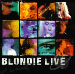 Blondie - Live CD Cover Art