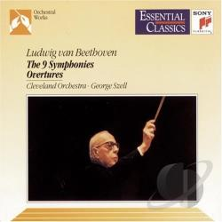 Szell, George - Beethoven: The 9 Symphonies / Szell, Cleveland Orchestra CD Cover Art