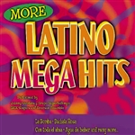 More Latino Mega Hits CD Cover Art