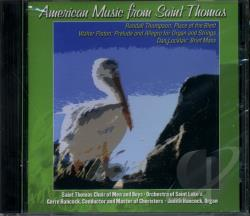 Hancock / Saint Thomas Choir Of Men & Boys - American Music from Saint Thomas CD Cover Art