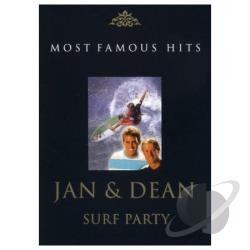 Jan & Dean - Surf Party : Jan & Dean DVD Cover Art