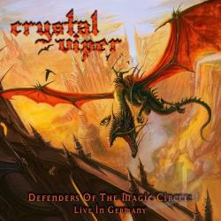 Crystal Viper - Defenders of the Magic Circle: Live In Germany CD Cover Art
