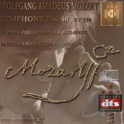 Cobra, Maximianno - Mozart: Symphony No. 40 CD Cover Art