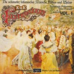 Festkonzert / Hilmar / Kmoch / Komzak - Most Beautiful Bohemian Marches, Polkas & Waltzes CD Cover Art