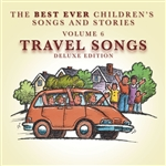 Peter Samuels - Best Ever Children's Songs And Stories, Vol. 6: Travel Songs - Deluxe Edition DB Cover Art