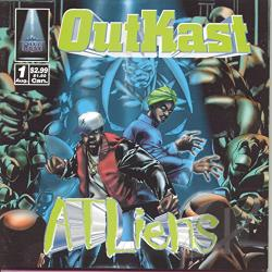 Outkast - ATLiens CD Cover Art