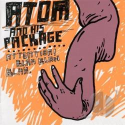 Atom & His Package - Attention, Blah Blah Blah CD Cover Art