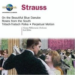 Bohm - J. Strauss Jr.: On the Beautiful Blue Danube, etc / B�hm CD Cover Art
