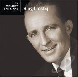 Crosby, Bing - Definitive Collection CD Cover Art