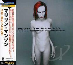 Manson, Marilyn - Mechanical Animals CD Cover Art