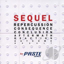 Paste - Sequel CD Cover Art