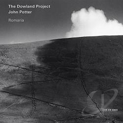 Dowland Project / Potter, John - Romaria CD Cover Art
