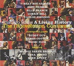 Chicago Blues: A Living History - The evolution Continues CD Cover Art