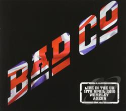 Bad Company - Live at Wembley Arena CD Cover Art