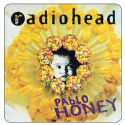 Radiohead - Pablo Honey CD Cover Art