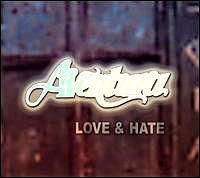 Aventura - Love & Hate CD Cover Art