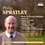 Spratley - Philip Spratley: Music for String Orchestra CD Cover Art