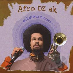 Afro DZ Ak - Elevation CD Cover Art