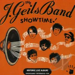 J. Geils Band - Showtime! CD Cover Art