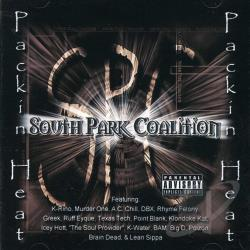 South Park Coalition - Packin' Heat CD Cover Art