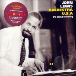Lewis, John - Orchestra U.S.A.: The Debut Recording CD Cover Art