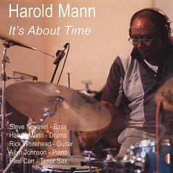 Mann, Harold - It's About Time CD Cover Art