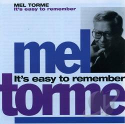 Torme, Mel - It's Easy To Remember CD Cover Art