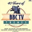 40 Years Of BBC TV Themes CD Cover Art