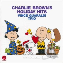 Guaraldi, Vince / Vince Guaraldi Trio - Charlie Brown's Holiday Hits CD Cover Art