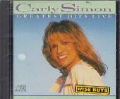 Simon, Carly - Greatest Hits Live CD Cover Art