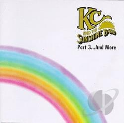 K.C. & The Sunshine Band - Part 3...And More CD Cover Art
