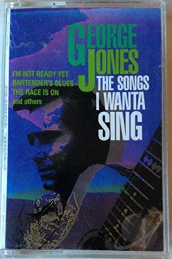 Jones, George - Songs I Wanta Sing CD Cover Art