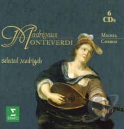 Smith, Staempfil, Rossier, Schaer - Monteverdi Madrigaux CD Cover Art