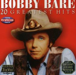 Bare, Bobby - 20 Greatest Hits CD Cover Art