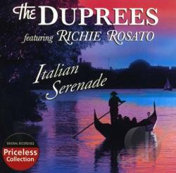 DuPrees - Italian Serenade CD Cover Art