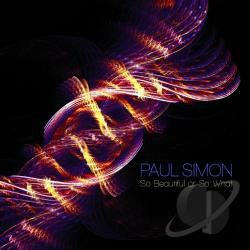 Simon, Paul - So Beautiful or So What LP Cover Art