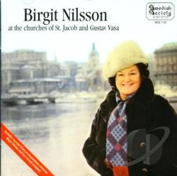 Beethoven / Nilsson, Birgit - At St Jacob CD Cover Art