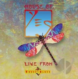 Yes - House of Yes: Live From House of Blues CD Cover Art